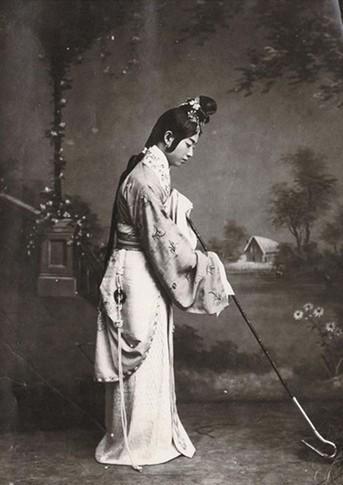 1910年代,梅兰芳戏妆照。