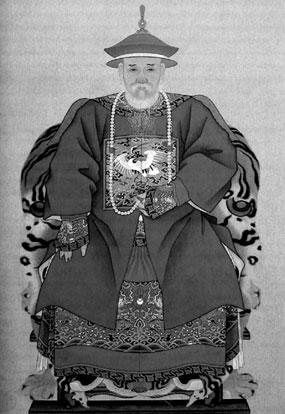 康熙王朝重臣明珠