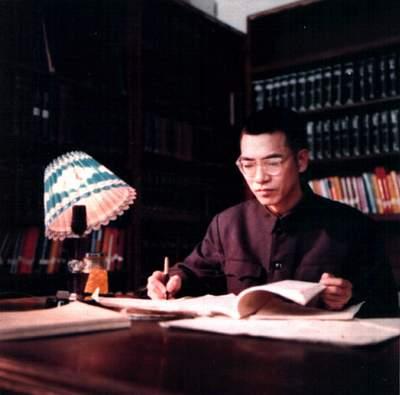 陈景润在研究数学