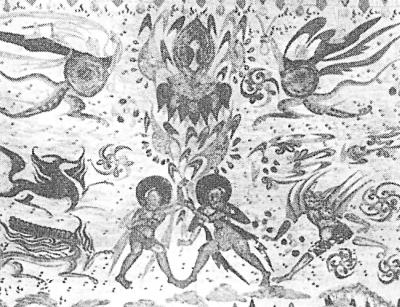 伏羲女娲壁画