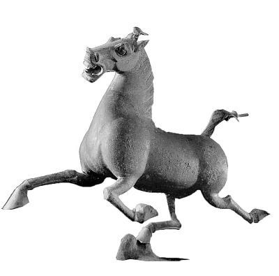 武威雷台汉墓出土铜奔马