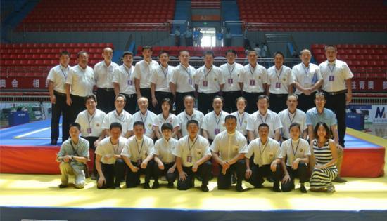 第十三届全国武术学校散打比赛全体工作人员