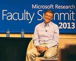 比尔·盖茨微软研究院学术峰会演讲