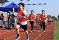 2013年金山区学生阳光体育大联赛综合身体素质竞赛