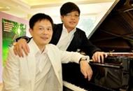 廖明飞携学生走进江西 奏响仙女湖大型钢琴音乐会