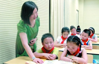 海棠小学德育主任王豪梅:用亲和与热情感染学生