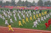 湖南太极拳健身月活动走进校园