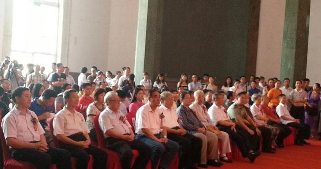 共和国124位高级将领敬书毛泽东诗词书法作品在湖南长沙首展