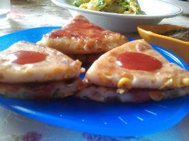 玉米草莓夹心饼
