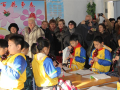 牡丹江市迎接俄罗斯特殊教育专家团参观访问