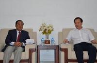 广西民大校长拜会柬埔寨、缅甸驻南宁总领事