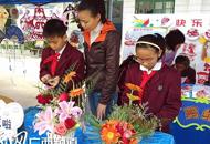 """南宁举行2013农村学校""""洒扫应对""""主题教育活动现场会"""