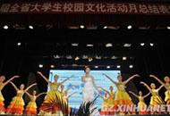 第八届贵州大学生校园文化活动月举行颁奖典礼