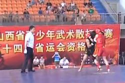 2013年山西省青少年武术比赛落幕