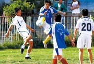 甘肃青少年足球夏令营