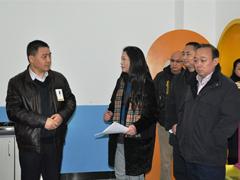 省教育厅副厅长王康到锦江区调研教育信息化工作
