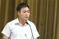 河南省大学生自主创业先进典型巡回报告活动启动