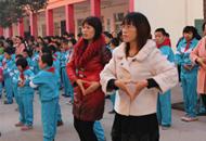 宝丰县举行爱心救助超市学生爱心卡集中发放仪式