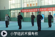 小学组武术操考核