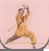 趣味武术 二级 健身拳操  弹踢双推