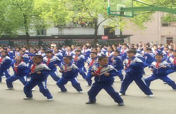 """耒阳:让武术在校园""""流行""""起来"""