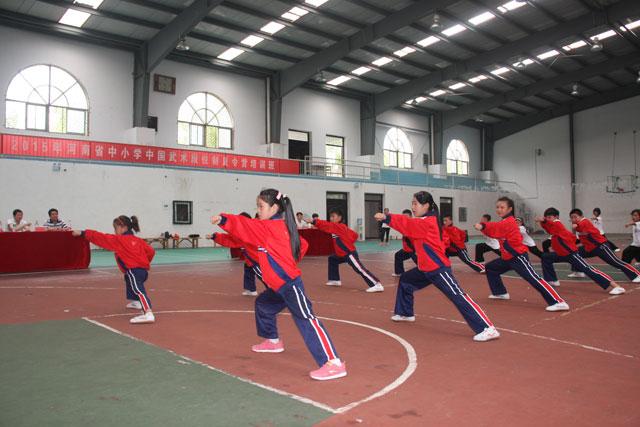 河南省首期中小学武术段位制夏令营培训班圆满结束