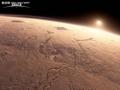 科学家称火星存在玻璃沙漠可能证明有生命