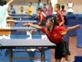 青少年乒乓选手在京竞技
