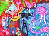 武汉小画童领回联合国大奖 非洲领奖精彩刺激
