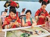 北方奇葩有传承:渤海精美靺鞨绣