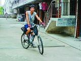 学生从成都单骑回福清 历时25天跨六省市