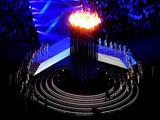 """""""欢乐而荣耀""""的伦敦奥运会闭幕(组图)"""