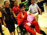 刘翔回莘庄基地进行康复 三个月后可简单活动