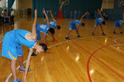 全国U13篮球训练营于秦皇岛开营