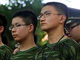 中国科大少年班 53名新生入学先军训