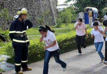 开学第一课 新生学消防