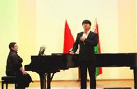 白俄罗斯中国留学生举行音乐会 演绎中西方经典