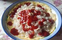美味营养的学生早餐-火焰山