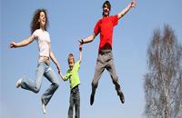 家庭幸福有助大脑发育 双亲家庭的孩子更聪明