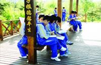 净月潭畔美丽校园 生态绿色幸福教育