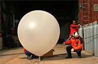 清华附中13名学生高空探测 气球拍霾回收失败