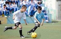 大连举办校园足球节 王作开:足球伴孩子成长