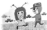 小学生面对坏人应该怎么办?