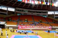 全国中学生跆拳道锦标赛在深圳宝安体育馆开赛