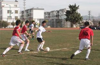 昆明市校园足球夏令营开营