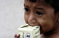 世界各处的饥饿
