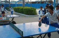 全国中学生乒乓球赛重庆开拍