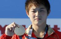 女子十米台中国15岁小将夺冠 陈若琳摘银牌