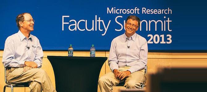 作为微软的董事长,比尔·盖茨在2013微软教育峰会做了主题演讲。通过介绍盖茨基金会近年来在改善世界的努力,特别在疾病控制、金融创新等方面的尝试,给我们展示计算能力的进展。在问答环节,他回答了来自世界各地与会的科技人员提出的问题,就在线教育、疾病防止、计算进展等方面,作出了令人印象深刻的阐述。