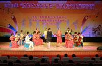 """崇明县开展""""校园文化进社区""""送戏下乡活动"""
